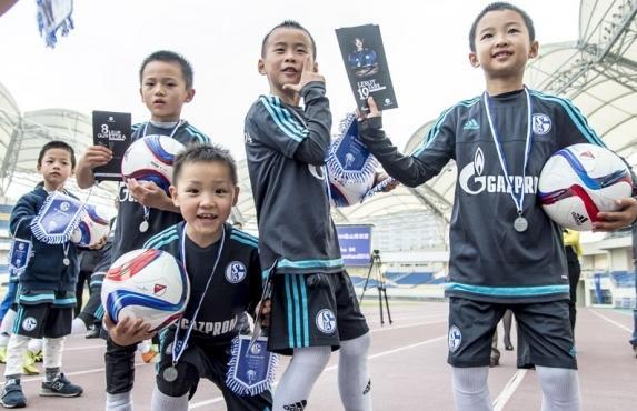 Fußballschulen als Teil der Kooperation