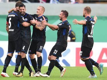Drittliga-Aufsteiger SC Paderborn wirf den FC St. Pauli aus dem Pokal