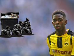 Ousmane Dembélé hat in seinem Mietshaus offenbar eine Müllhalde hinterlassen