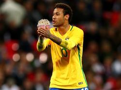 Schaut der WM-Auslosung vom Sofa aus zu: Neymar