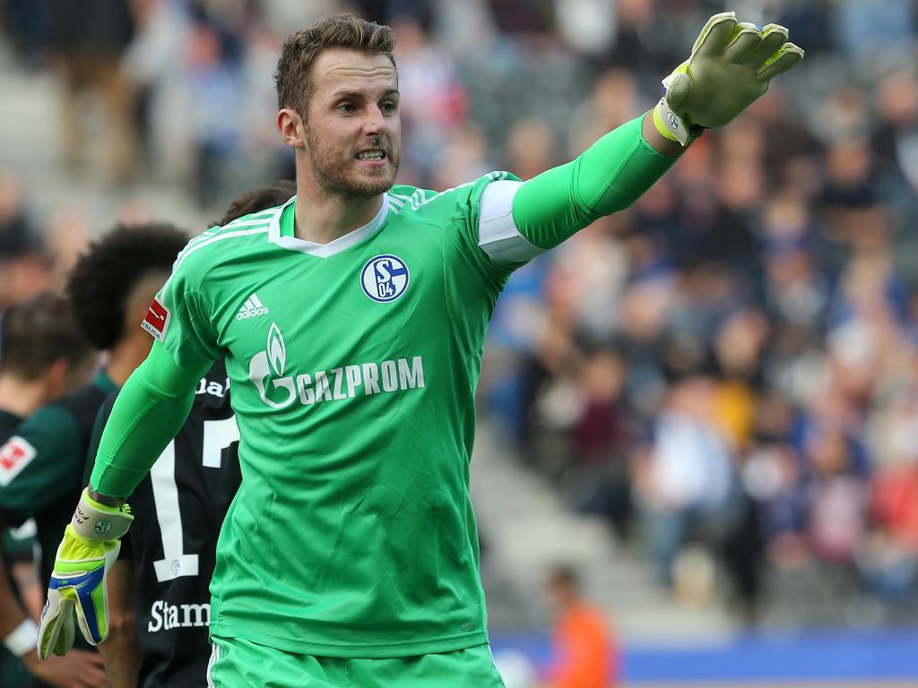 Leon Goretzka zurück im Schalker Mannschaftstraining