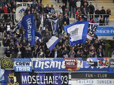 Die Trier-Fans fiebern der Partie gegen den Vizemeister entgegen