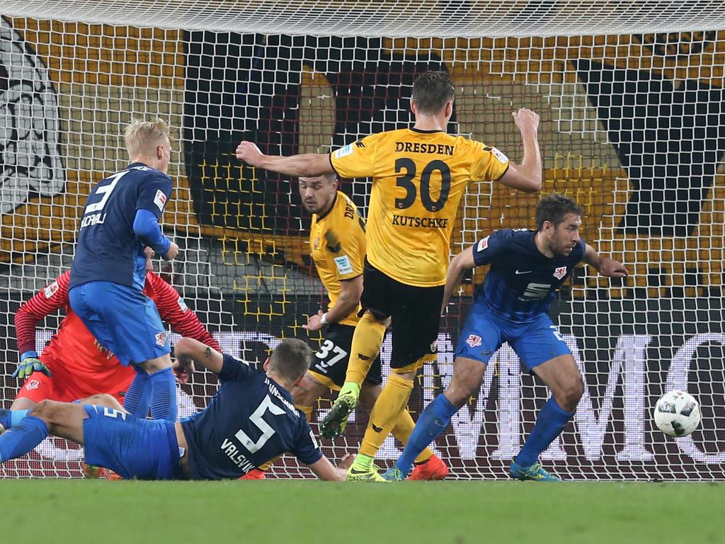 Stefan Kutschke drehte gegen Eintracht Braunschweig das Spiel