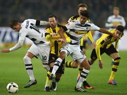 Trotz aller Bemühungen konnten die Gladbacher den BVB nicht stoppen