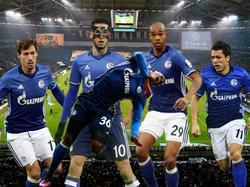 Die schwere Verletzung von Embolo (v.) sorgte für einen kollektiven Schalke-Schock