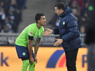 Luiz Gustavo (l.) will den VfL Wolfsburg verlassen
