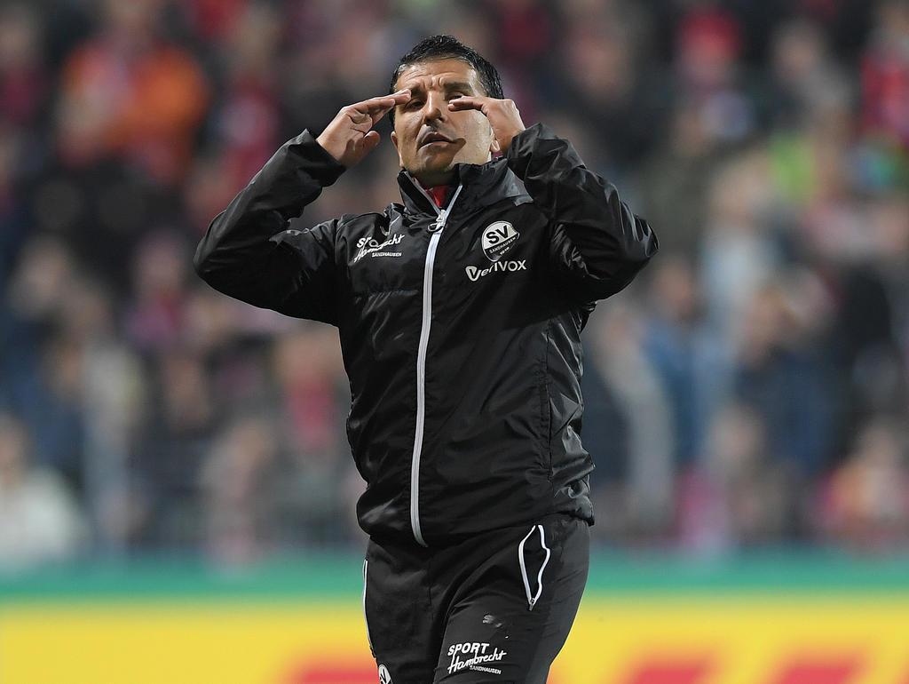 SVS-Coach Kenan Kocak muss im Pokal mit dem Underdog gegen Schalke bestehen