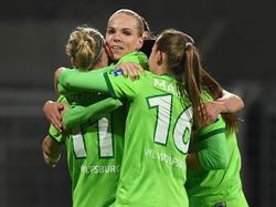 Die Damen des VfL Wolfsburg müssen gegen eines der besten Teams der Welt ran