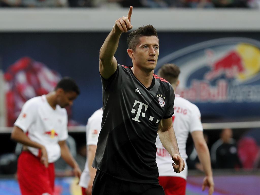 El delantero polaco acudió puntual a su cita con el gol. (Foto: Getty)