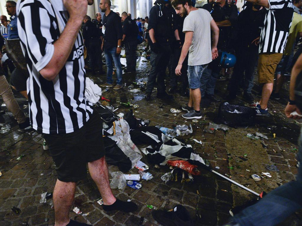 Verletzte nach Panik beim Public Viewing in Turin