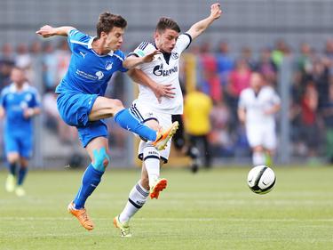 Nico Rieble (l.) läuft zukünftig für den VfL Bochum auf