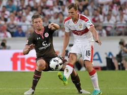 Florian Klein kommt bei Stuttgart kaum noch zu Einsätzen