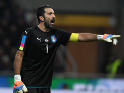 Gianluigi Buffon en el Italia-Alemania de ayer. (Foto: Getty)