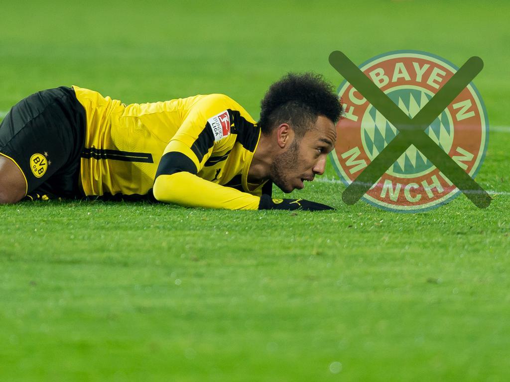 BVB-Stürmer Pierre-Emerick Aubameyang würde nie zum FC Bayern München gehen