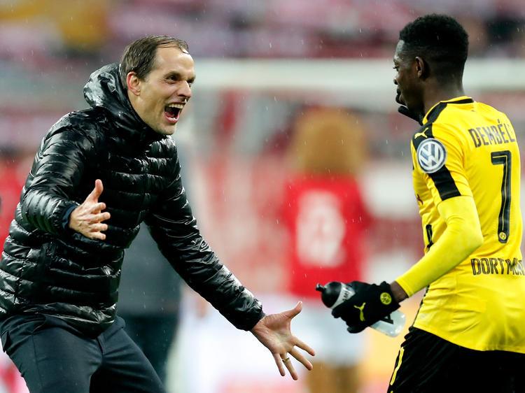Thomas Tuchel coachte den BVB zum Sieg bei den Bayern