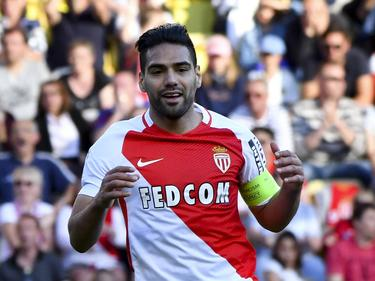 Falcao anota un gol con el conjunto monegasco ante el Toulouse. (Foto: Imago)