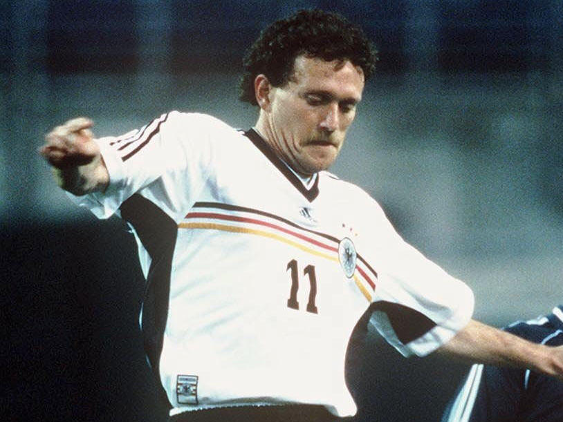 ANGRIFF: Olaf Marschall (1. FC Kaiserslautern)