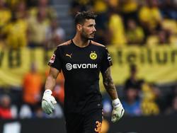 BVB-Keeper Roman Bürki nimmt die Kritik an seiner Person mit Humor