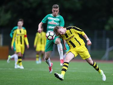 Werder-Talent David Philipp soll das Interesse englischer Klubs geweckt haben