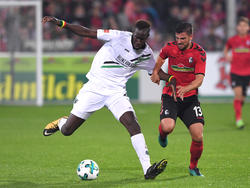 Hannovers Salif Sané (l.) ist gegen den 1. FC Köln fraglich