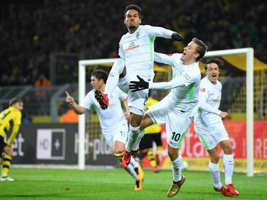 Werder Bremen gewinnt im Signal Iduna Park