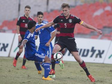 U18-Junioren verlieren 2:3 gegen Gastgeber Israel