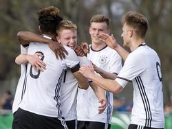 Deutsche U19 gewinnt gegen Südkorea