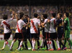 Boca vs. River Plate - da geht es meistens hoch her