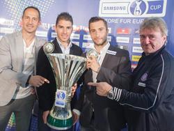 Um diesen Pokal rittern am 3. Juni Salzburg und die Austria