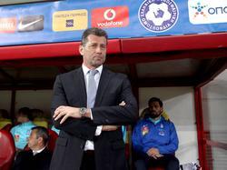 Michael Skibbe trainiert Griechenlands Nationalmannschaft