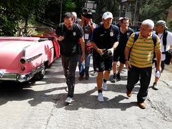 Jürgen Klinsmann spielte mit seinem Team auf Kuba