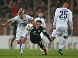 Hertha BSC erreicht gegen St. Pauli die nächste Runde