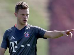 Bayern-Verteidiger Joshua Kimmich glaubt an die Stärke des BVB