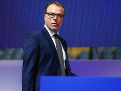 Clemens Tönnies sieht Guido Burgstaller noch nicht am Ende seiner Entwicklung