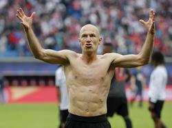 Arjen Robbens Vertrag bei den Bayern endet im Sommer 2018