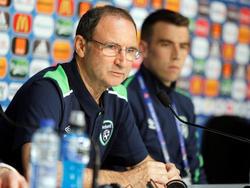 Ist mit der Ticketvergabe beim Spiel gegen die Franzosen nicht einverstanden: Irlands Trainer O'Neill