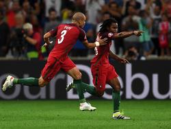 Renato Sanches (r.) erzielte den Treffer zum 1:1