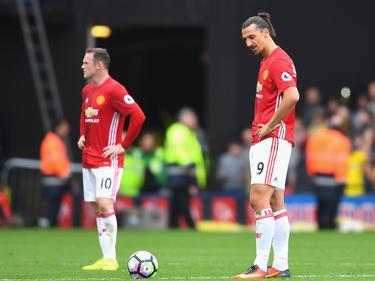 Enttäuscht und fassungslos: Rooney und Ibrahimović verlieren erneut