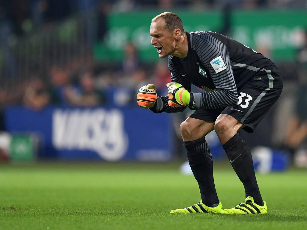 Werder Schock Keeper Drobn½ in Gips