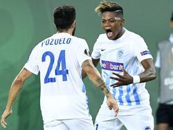 Alejandro Pozuelo und Leon Bailey (r.) sollen das Interesse von Borussia Dortmund geweckt haben