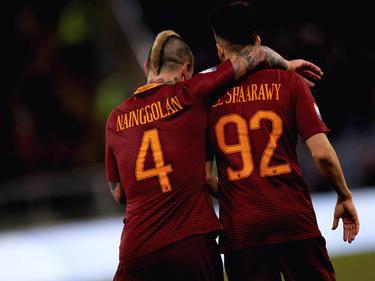 Radja Nainggolan und Stephan El Shaarawy überzeugten gegen Sampdoria