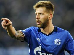 Guido Burgstaller ist bei Schalke kaum zu bändigen