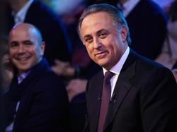 Witali Mutko wird bei der FIFA ausgesperrt