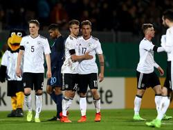 Die U21-Nationalmannschaft präsentiert sich bereits in guter Form