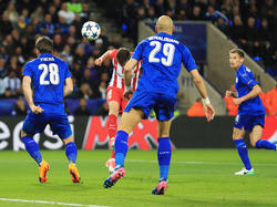Atlético Madrid reicht ein 1:1 bei Leicester City