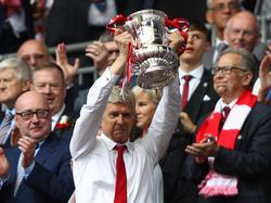 Erfolgstrainer: Arsenals Arsène Wenger gewann mit den Gunners den FA Cup