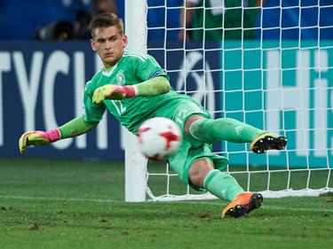Julian Pollersbeck hat die deutsche Mannschaft ins EM-Finale geführt
