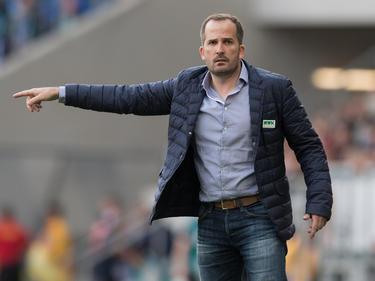 Augburgs Trainer Manuel Baum ist zufrieden mit dem Trainingslager