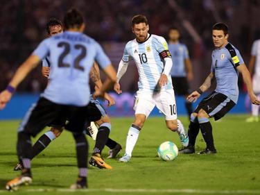 Lionel Messi konnte nur bedingt Akzente setzen