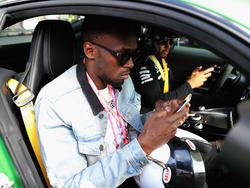 Usain Bolt war am Sonntag bei der Formel 1 zugegen